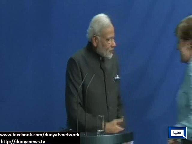 German Chancellor Angela Merkel Ignored Narendra Modi And Did Not Shake Hand With Him