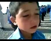 Funny National Anthem by cute Pathan from Parachinar