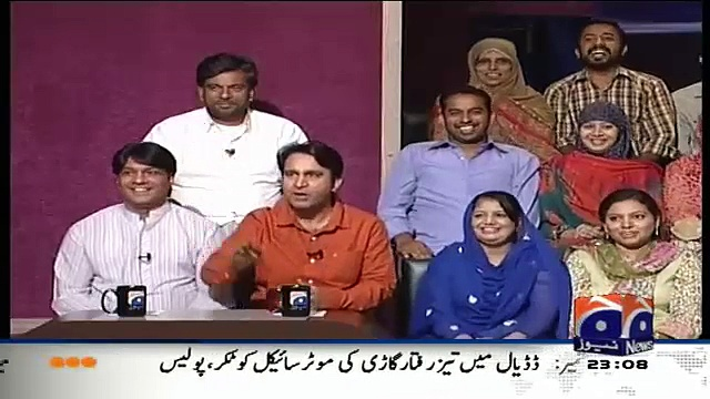 Hilarious Parody Of Tariq Aziz In Khabarnaak On Geo News