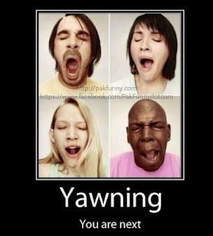 Yawning